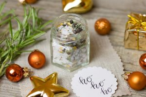 Weihnachtsgeschenke aus Kräutern